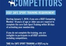 Have Your Completed Your USEF Safe Sport Training?